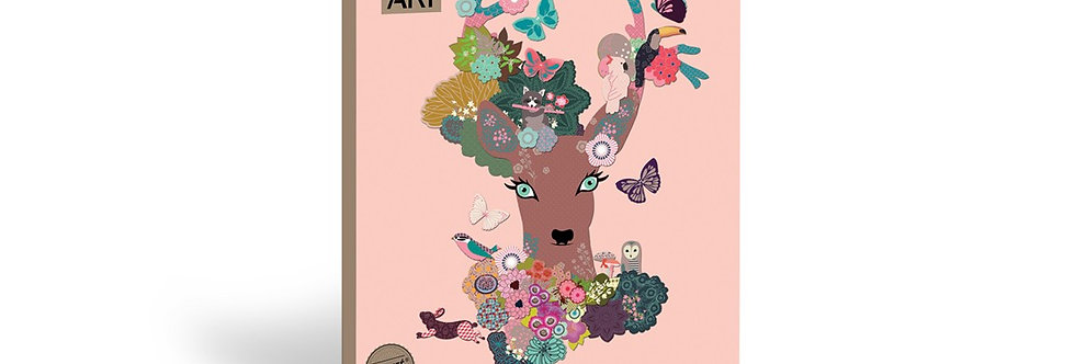 Kit créatif tête de cerf