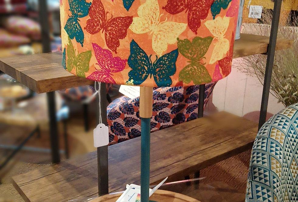 Lampe papillons colorés