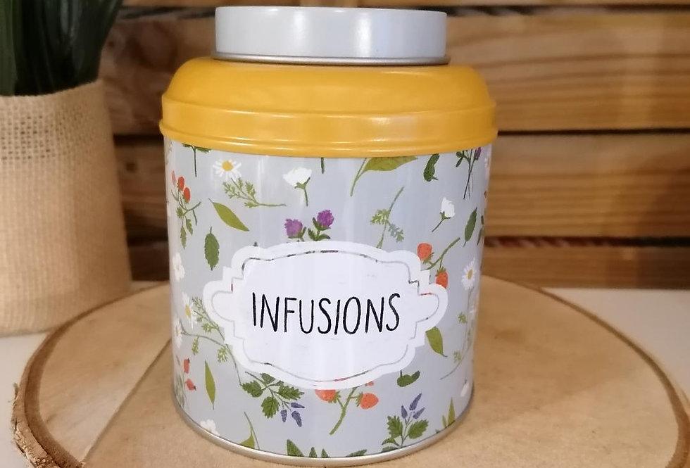Boîte à infusion
