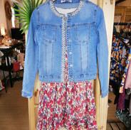 veste-jean-robe-fleurie-fashion-collecti
