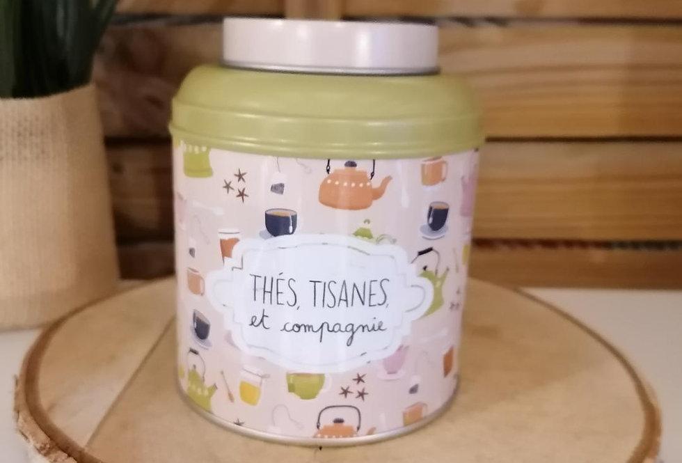 Boîte à thé, tisane