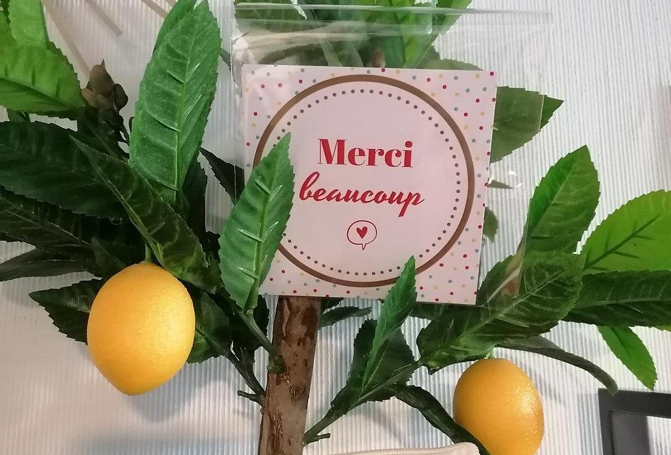 "Carte ""merci beaucoup"" ❤"