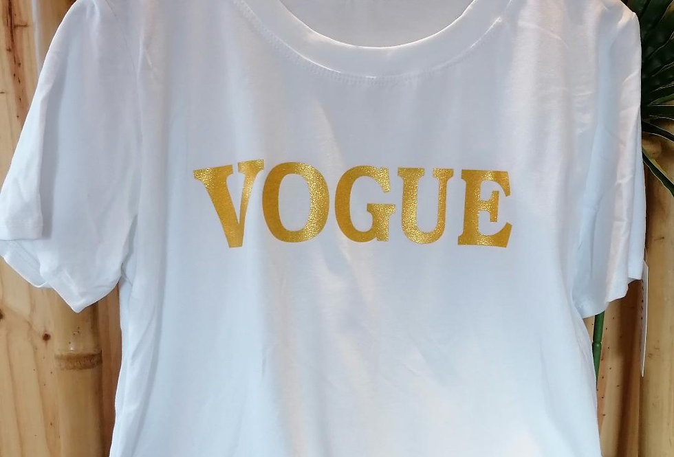 Tee-shirt Vogue