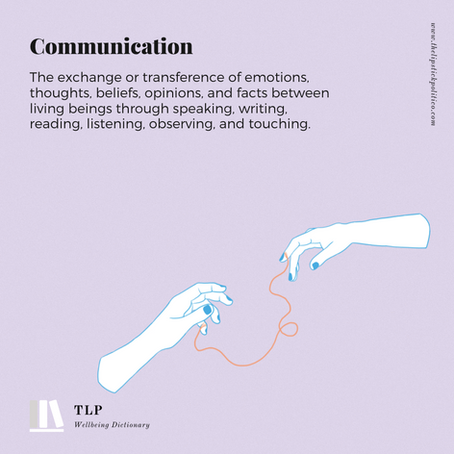 C is for Communication