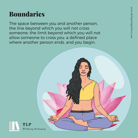 B is for Boundaries
