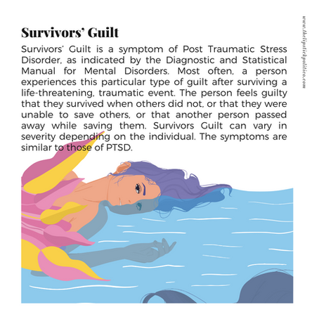 Mental Wellbeing Dictionary: S is for Survivor's Guilt