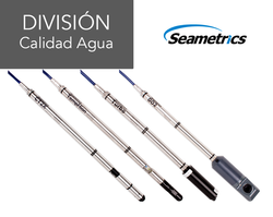 Seametrics calidad de agua sensores