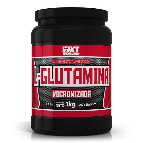 L-GLUTAMINA MICRONIZADA 1 KILO 200 SERVICIOS