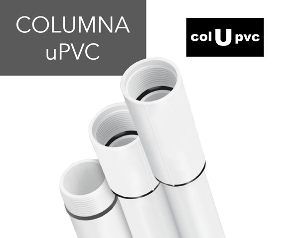 columna de uPVC pvc colupvc