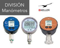 Keller Druck Manómetro Digital
