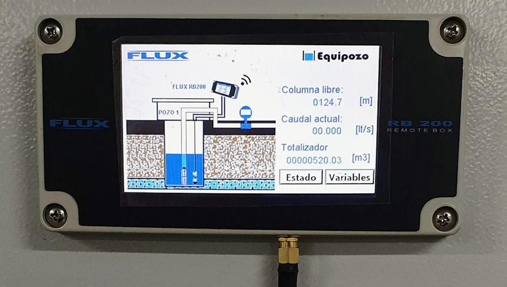 Flux RB200 Eauipozo  NMX-AA-179-SCFI-2018