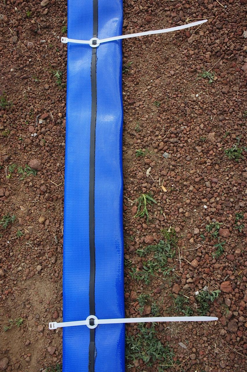 Sistema Sujeción de cable sumergible