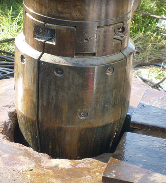 Swage tool for water wells