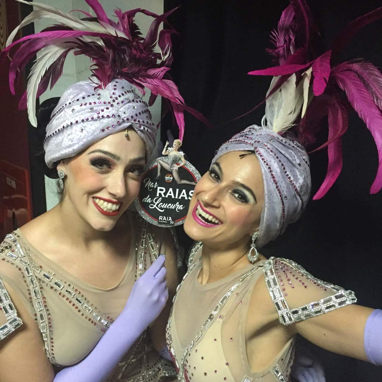 Mariana Galindo e AlessandraDimitrou