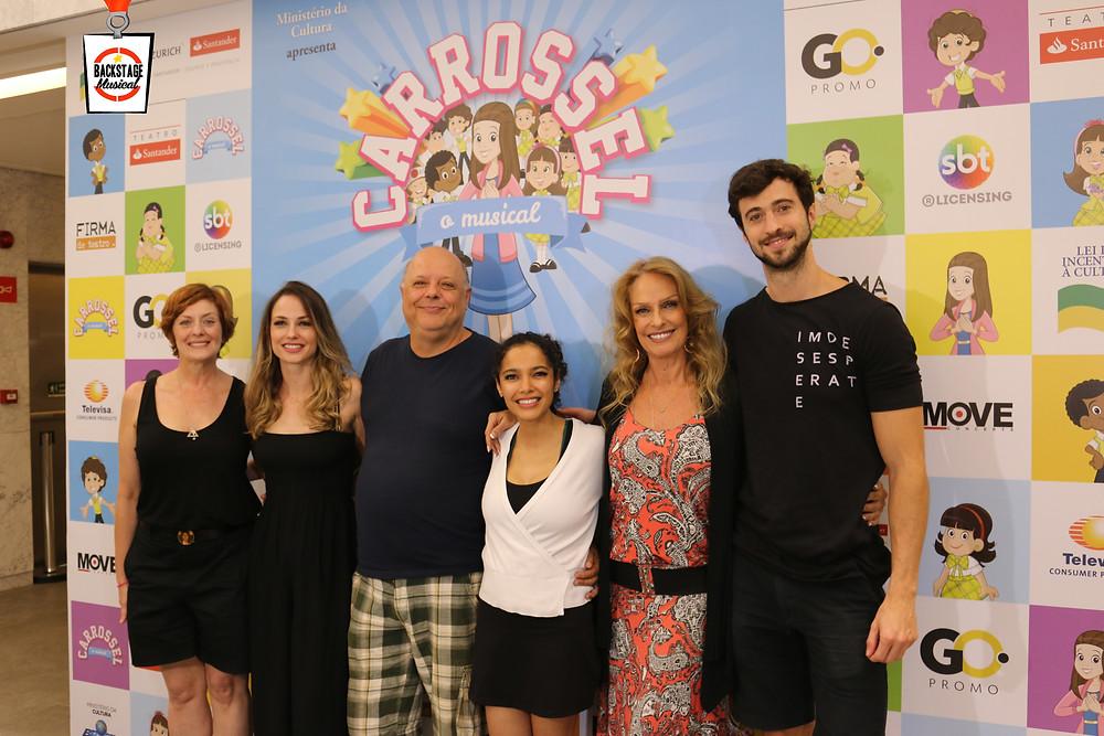 Elenco adulto:  Chris Couto, Rosane Mullholand, Rooney Facchini, Márcia de Oliveira, Rosana Penna e Patrick Amstalden.