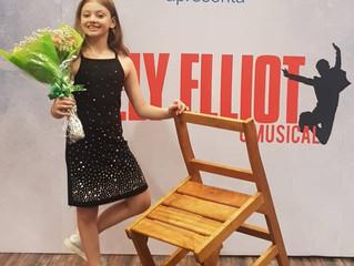 Entrevista com Dudda Artese, atriz mirim de Billy Elliot