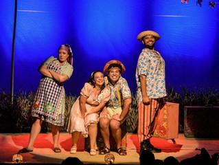 'Luiz e Nazinha – Luiz Gonzaga para Crianças' no Teatro Multiplan, no Rio de Janeiro