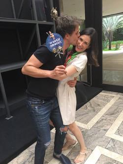 Cleto Baccic e Sara Sarres