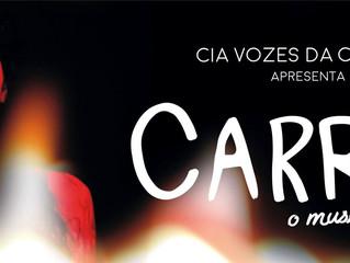 O Teatro Augusta recebe: Carrie - o musical