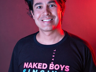 Entrevista: Rodrigo Alfer fala sobre Naked Boys Singing