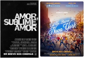 Trailers musicais são divulgados durante a cerimônia do Oscar