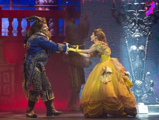 A Bela e a Fera no Teatro Claro SP
