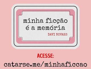 Davi Novaes lança campanha de financiamento coletivo para publicação de seu primeiro livro