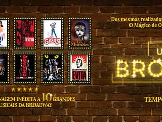 #TEATRO Um Dia Na Broadway