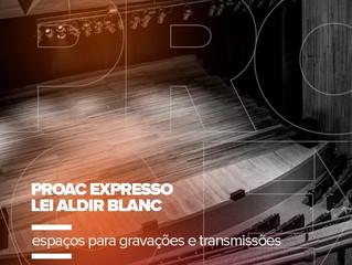 Teatro Sérgio Cardoso e Teatro Estadual de Araras abrem cadastro para utilização do espaço.