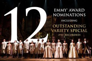 Hamilton é indicado ao Emmy