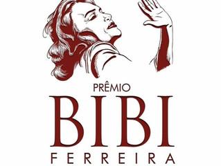 Divulgados os indicados ao Prêmio Bibi Ferreira 8ª Edição