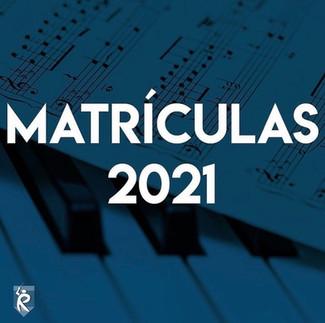 Matrículas abertas para aulas de música na Escola Regência