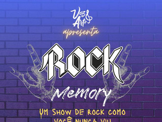 Grande show Rock Memory abre venda de ingressos