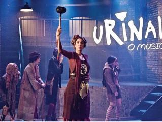 Backstage foi pra Urinal: O Musical