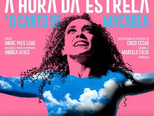 """""""A Hora da Estrela"""", com Laila Garin, terá transmissão ao vivo"""