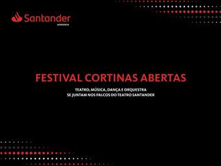 Teatro Santander apresenta 'Festival Cortinas Abertas'