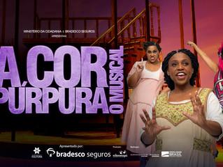 A Cor Púrpura Estreia em São Paulo