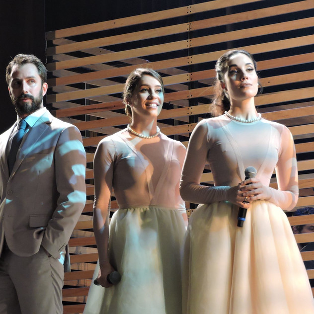 Nicola Lama, Jhafiny Lima, Myra Ruiz