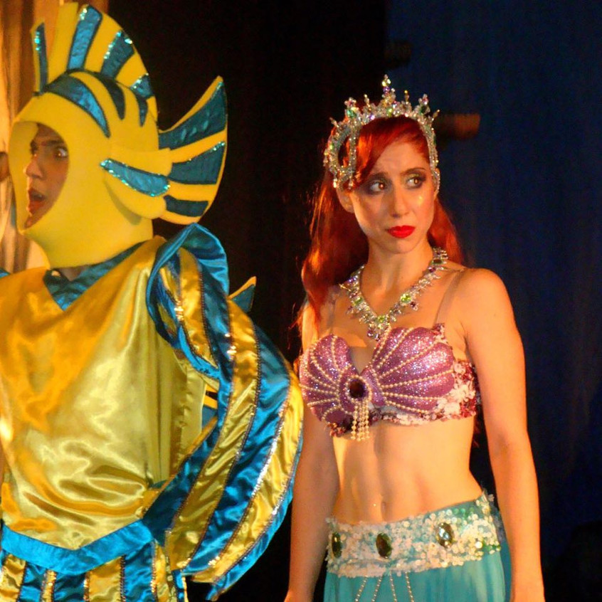 Ariel - Festival de Dança Academia Studio A. A Pequena Sereia.