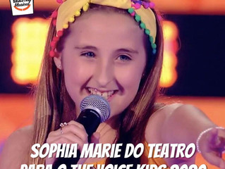 Sophia Marie do Teatro Musical para o The Voice Kids 2020