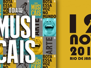 O Dia dos Musicais faz sua primeira edição no Rio de Janeiro em parceria com Projeto Nós do Morro do