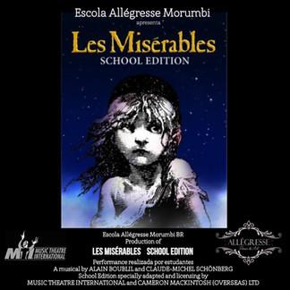 Allegresse Dança & Arte terá curso de montagem de Les Miserables licenciado pela MTI-NY