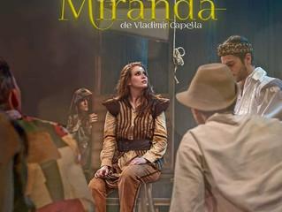 Saiba mais sobre Miranda, novo espetáculo do Grupo Artemis