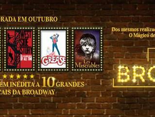 Um dia na Broadway estreia em outubro no Teatro Bradesco São Paulo