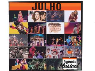 AGENDA MUSICAL – JULHO