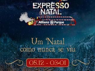 """""""Expresso Natal"""" traz shows ao Allianz Parque"""