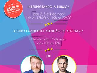 Will Callaghan e Martin Callaghan oferecem workshop em São Paulo
