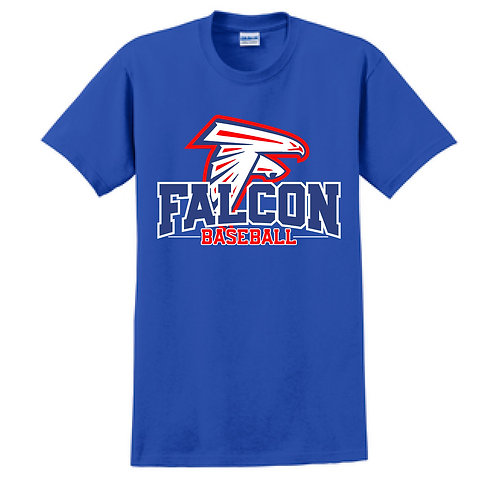 Falcon Baseball - Short Sleeve T-Shirt