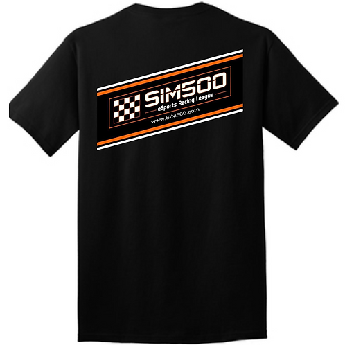 Official SIM500 E-Sports Racing League Shirt