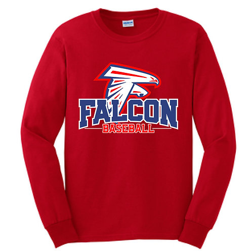 Falcon Baseball - Long Sleeve T-Shirt
